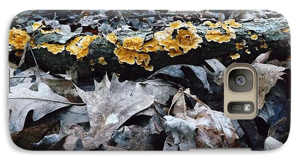 Galaxy Case featuring the photograph Autumns Art 3 by Gerald Strine