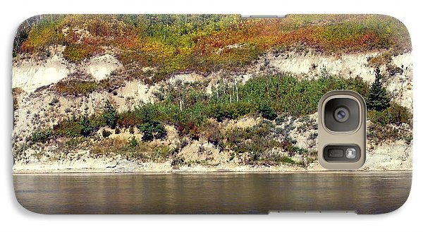 Galaxy Case featuring the photograph Autumn's Brush by Jim Sauchyn