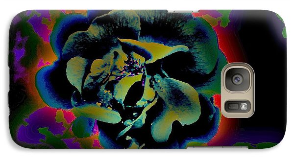 Galaxy Case featuring the digital art Avatar Rose 2 by Greg Moores