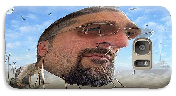 Buzzard Galaxy S7 Case - Awake . . A Sad Existence 2 by Mike McGlothlen