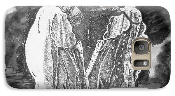 Galaxy Case featuring the photograph Awakening Morning by Shelley Bain