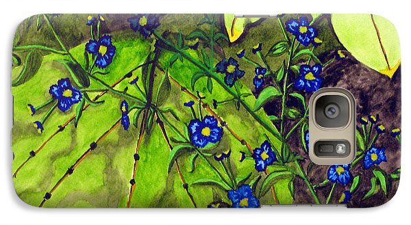 Galaxy Case featuring the photograph Awesome Blossom by Debi Singer
