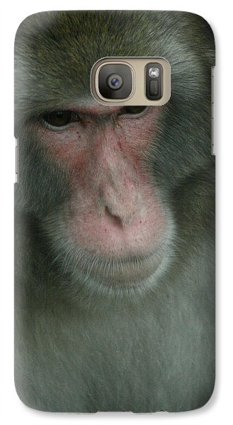 Galaxy Case featuring the photograph Baboon by Cindy Haggerty