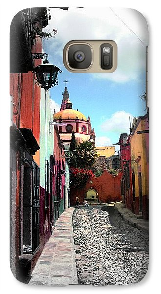 Galaxy Case featuring the photograph Back Of The Church by John  Kolenberg