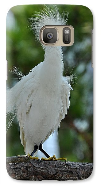 Galaxy Case featuring the photograph Bad Hair Day by Rick Frost