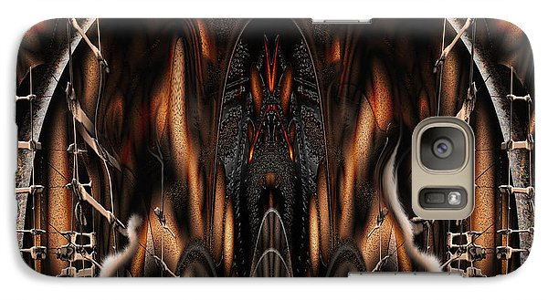 Galaxy Case featuring the digital art Bad Ride by Steve Sperry