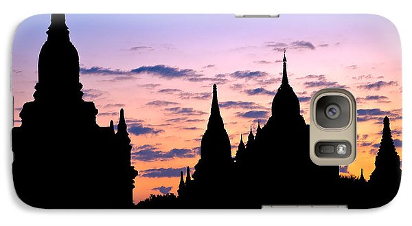 Galaxy Case featuring the photograph Bagan by Luciano Mortula