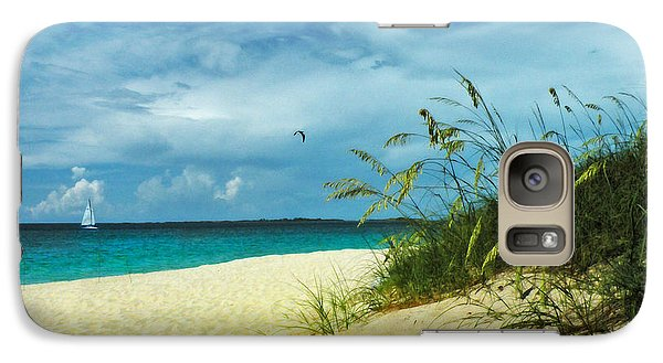 Galaxy Case featuring the photograph Bahamas Afternoon by Deborah Smith