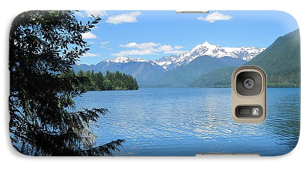 Galaxy Case featuring the photograph Baker Lake by Karen Molenaar Terrell