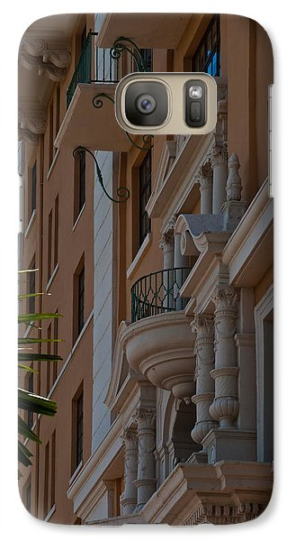 Galaxy Case featuring the photograph Balcony At The Biltmore Hotel by Ed Gleichman