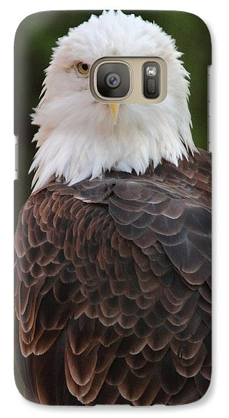 Galaxy Case featuring the photograph Bald Eagle by Coby Cooper