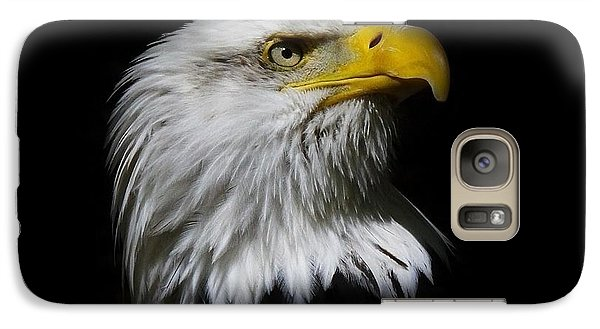 Galaxy Case featuring the photograph Bald Eagle by Steve McKinzie