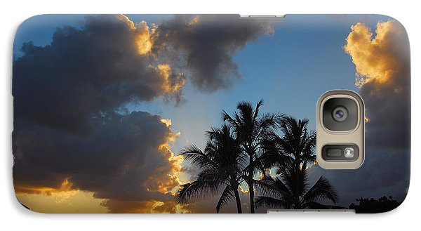 Galaxy Case featuring the photograph Bali Hai Sunset by Lynn Bauer