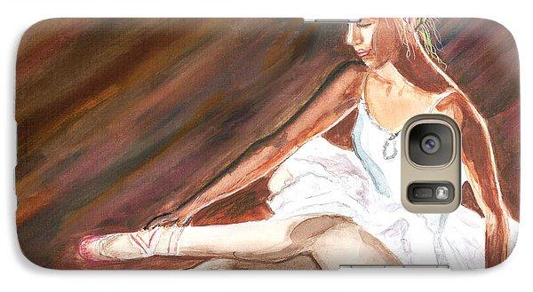 Galaxy Case featuring the painting Ballet Dancer by Clara Sue Beym