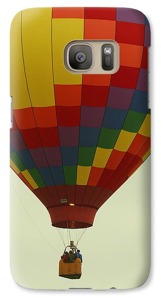 Galaxy Case featuring the photograph Balloon Ride by Daniel Reed