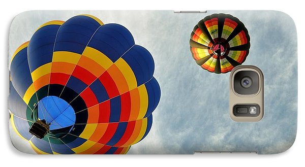 Galaxy Case featuring the photograph Balloons On The Rise by Rick Frost