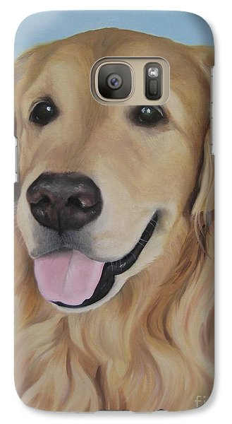 Galaxy Case featuring the painting Baltazar by Jindra Noewi