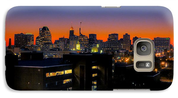 Galaxy Case featuring the photograph Baltimore At Sunset by Mark Dodd