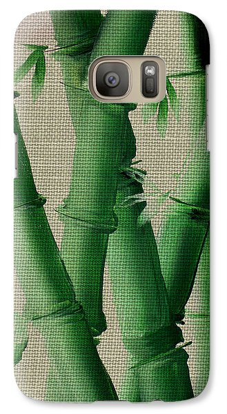 Galaxy Case featuring the painting Bamboo Cloth by Kathy Sheeran