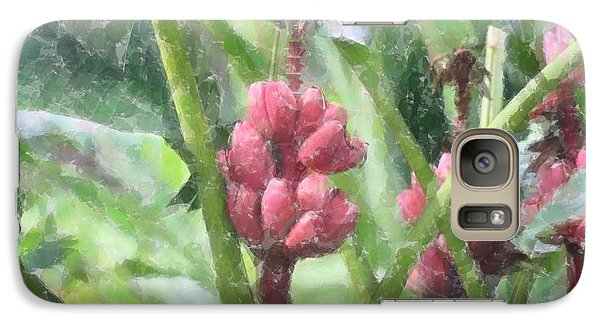 Galaxy Case featuring the photograph Banana Plant by Donna  Smith