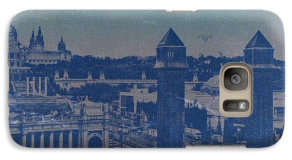 Barcelona Galaxy S7 Case - Barcelona by Naxart Studio