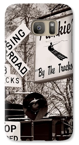 Galaxy Case featuring the photograph Barhopping At Frankies 1 by Lee Craig