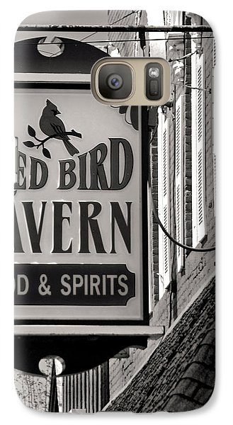 Galaxy Case featuring the photograph Barhopping At The Red Bird 1 by Lee Craig