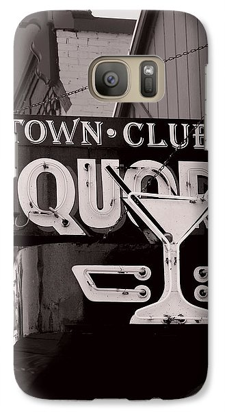 Galaxy Case featuring the photograph Barhopping At The Town Club 1 by Lee Craig