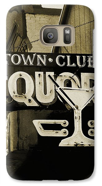 Galaxy Case featuring the photograph Barhopping At The Town Club 2 by Lee Craig