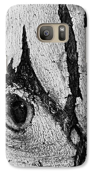 Galaxy Case featuring the photograph Bark Eye by Colleen Coccia