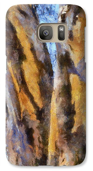 Galaxy Case featuring the digital art Bark by Roberto Gagliardi