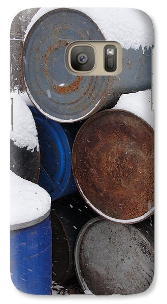 Galaxy Case featuring the photograph Barrel Of Food by Tiffany Erdman