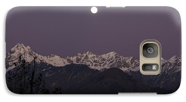 Galaxy Case featuring the photograph Bathed In Moonlight by Fotosas Photography
