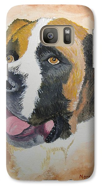 Galaxy Case featuring the painting Baxter by Norm Starks