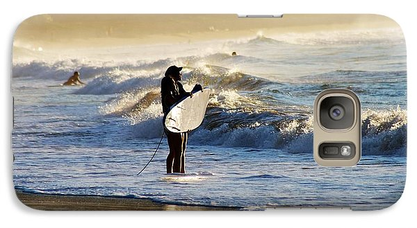 Galaxy Case featuring the photograph Beach Break by Lennie Green
