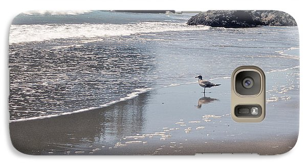 Galaxy Case featuring the photograph Beachcomber by Sharon Elliott