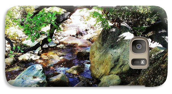 Galaxy Case featuring the photograph Bear Creek Branch by Clarice  Lakota