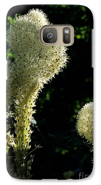 Galaxy Case featuring the photograph Bear-grass I by Sharon Elliott
