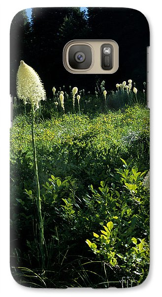 Galaxy Case featuring the photograph Bear-grass II by Sharon Elliott