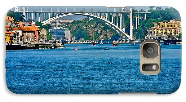 Galaxy Case featuring the photograph Beautiful Bridge In Porto by Kirsten Giving
