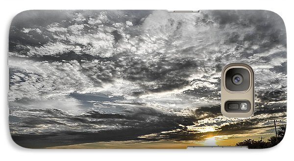 Galaxy Case featuring the photograph Beautiful Days End by Shannon Harrington