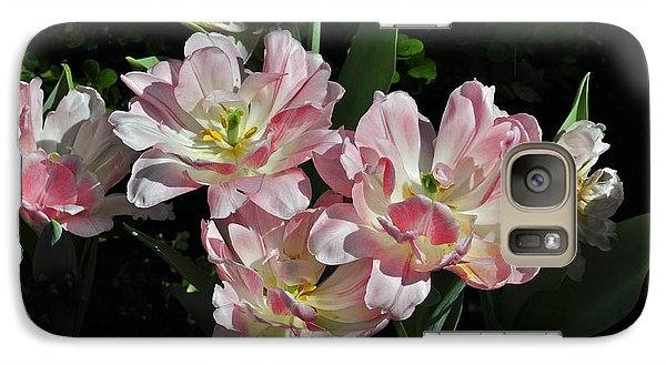 Galaxy Case featuring the photograph Beautiful Flowers by Rodney Campbell