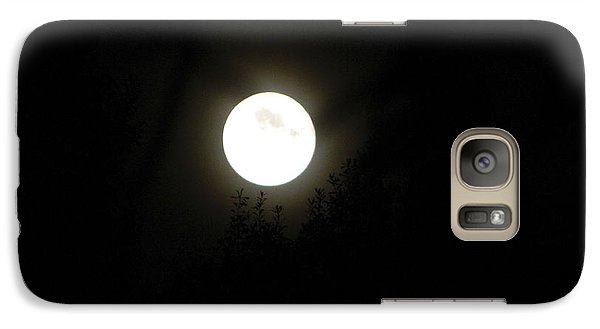 Galaxy Case featuring the photograph Beautiful Full Moon by Ester  Rogers
