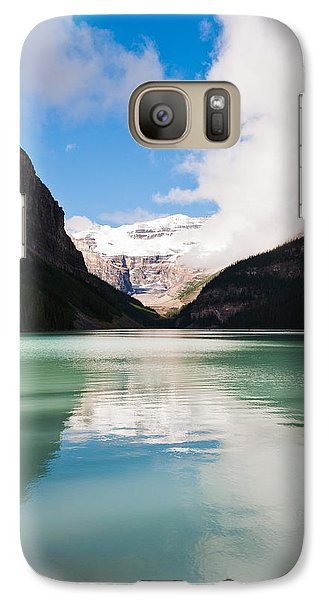 Galaxy Case featuring the photograph Beautiful Lake Louise by Cheryl Baxter