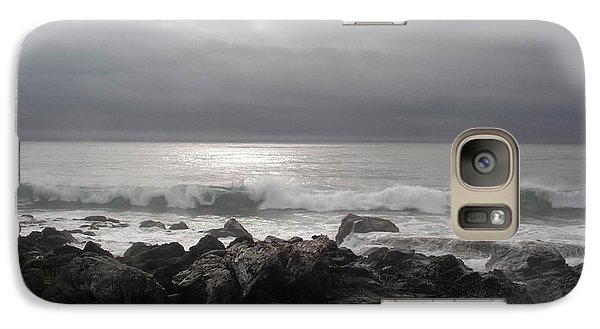 Galaxy Case featuring the photograph Beauty Of The Storm by Cheryl Perin