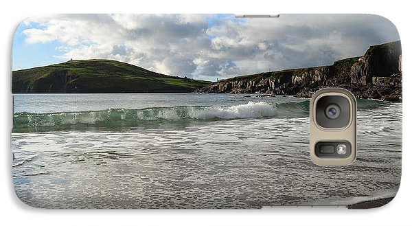 Galaxy Case featuring the photograph Beebane Beach by Barbara Walsh