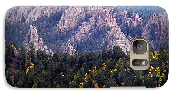 Galaxy Case featuring the photograph Beginning Of Mountain Fall by Michelle Frizzell-Thompson