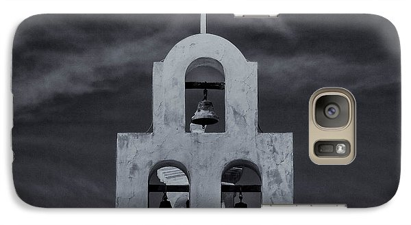 Galaxy Case featuring the photograph Bell Tower by Tom Singleton