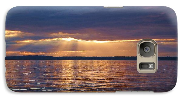 Galaxy Case featuring the photograph Bellingham Bay by Karen Molenaar Terrell