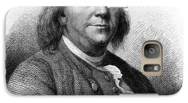 Galaxy Case featuring the photograph Benjamin Franklin by International  Images
